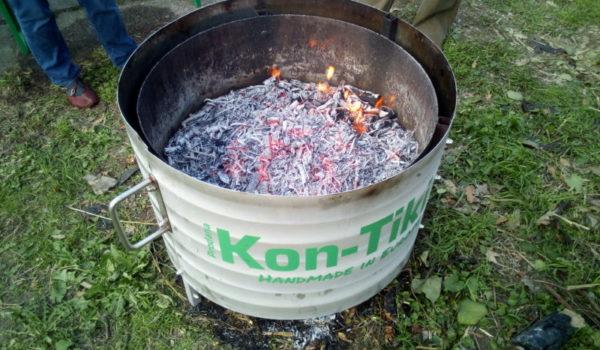 Kon-Tiki Pflanzenkohle für Terra Preta, Biochar for Terra Preta